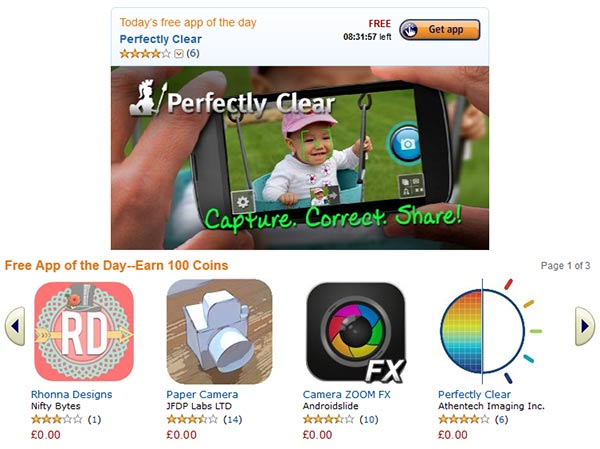 Amazon App Store - free photo apps today