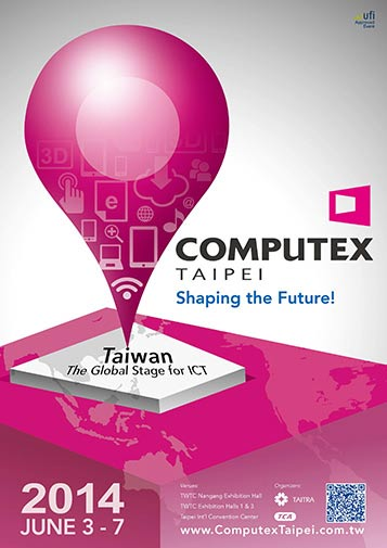 Computex Taipei 2014 promotional poster
