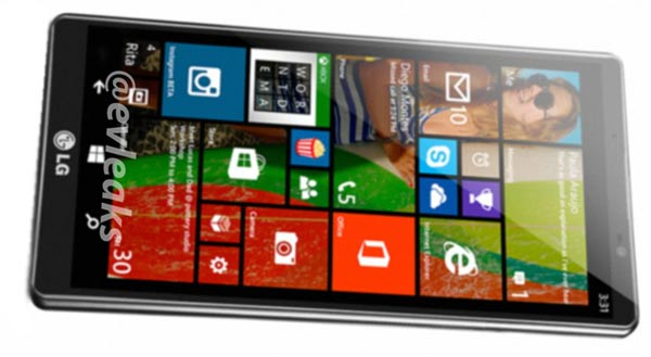 LG Uni8 Windows Phone