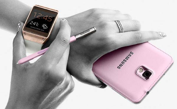 Samsung Galaxy Gear with Galaxy Note 3