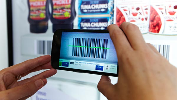 Tesco scan to buy