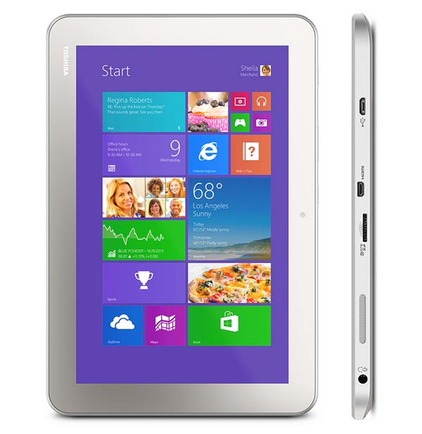 Toshiba Encore 2 10.1-inch front
