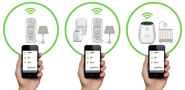 The Belkin WeMo switch system