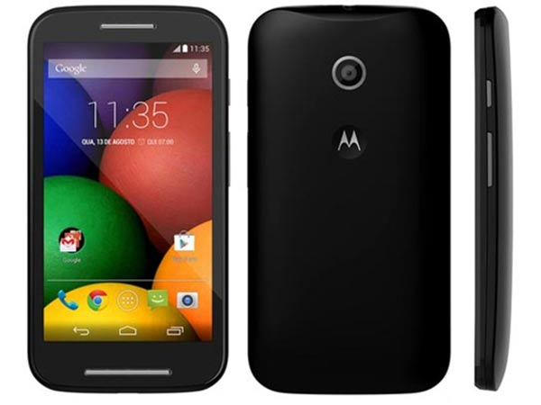 This is the Moto E