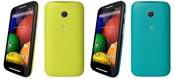 Some Moto E colour choices