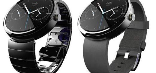 The Motorola Moto 360 enjoys a selection of strap choices