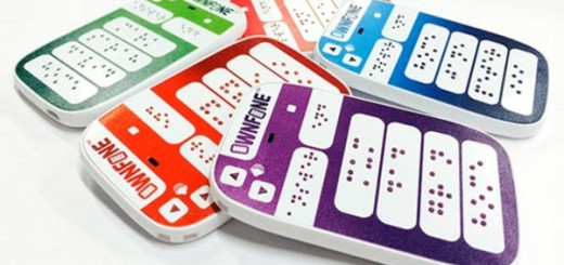 Braille phones by OwnFone