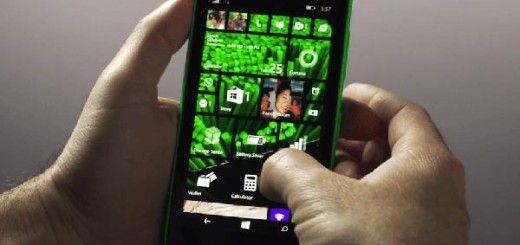 Windows Phone 8.1 backdrop icon transparency