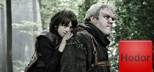Hodor, doing his thing, with keyboard app icon