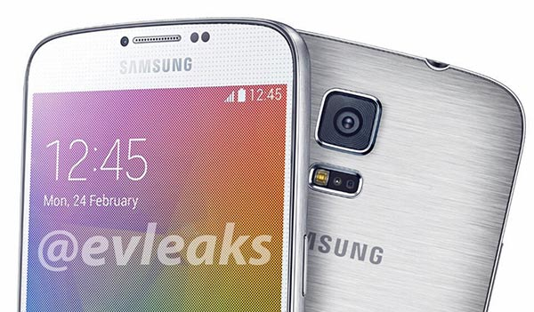 Nice clear Samsung Galaxy F promo shot