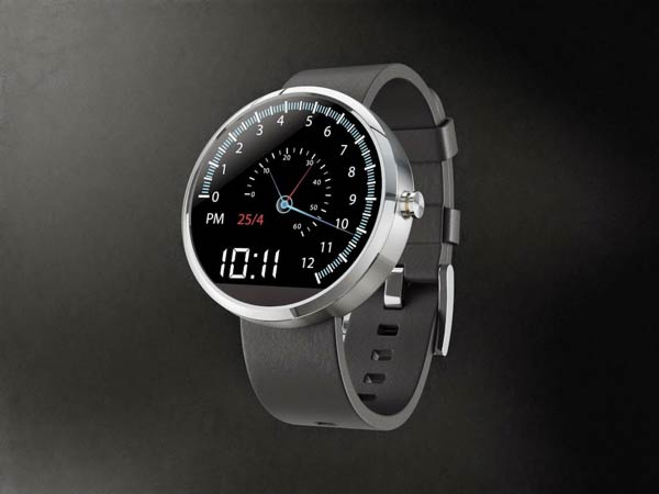 Paul Stringer: car speedometer style watch face