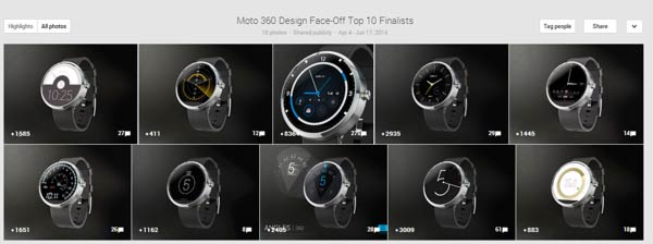 Moto 360 Design Contest: Top 10 Designs
