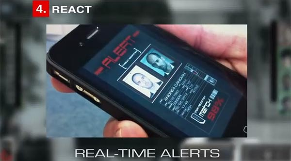 NeoFace sends a real-time alert to security!