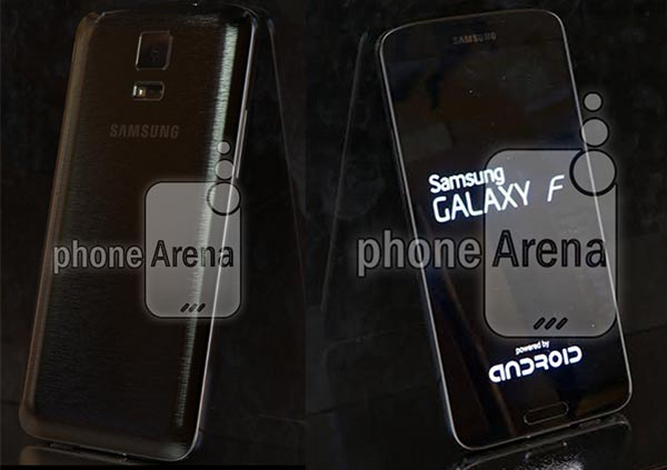 New images supposedly showing the Samsung Galaxy F