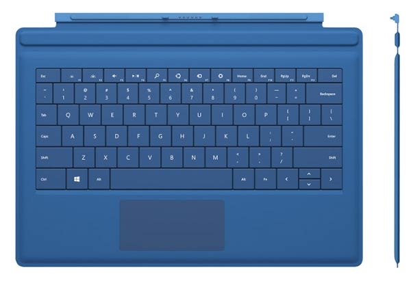 Microsoft's new Surface Cover with larger touchpad