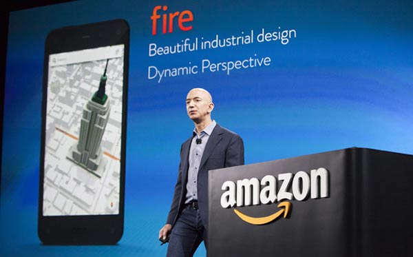 Amazon Fire smartphone launch event