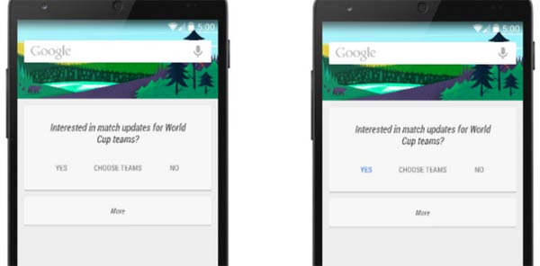 Google Hints Android 5.0
