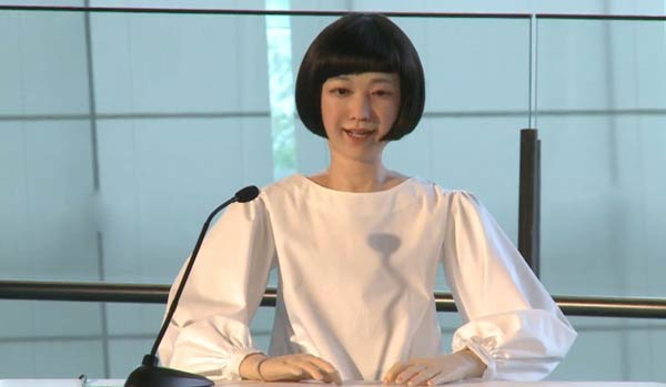 Kodomoroid Robotic Newscaster