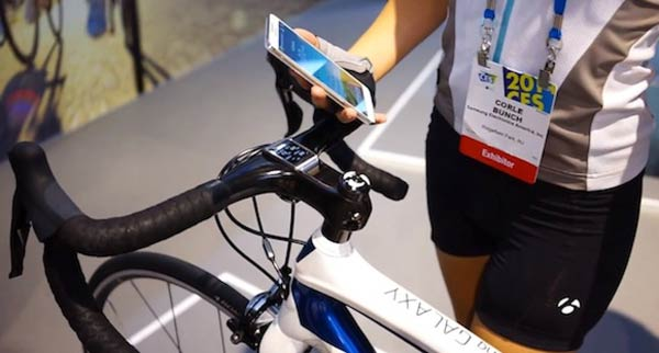 Samsung Galaxy Note 3 and Trek Bike