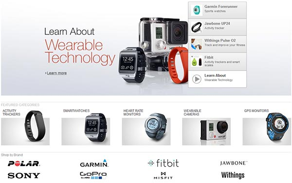 The Amazon Wearable Technology Store