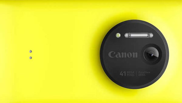 Canon imaging technology in a Microsoft Lumia phone?