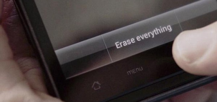This doesn't erase everything...