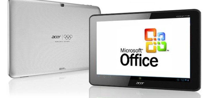 Microsoft Office for Android tablets