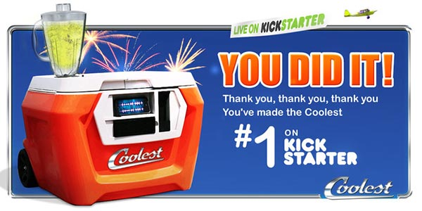 Coolest Cooler - the Kickstarter king