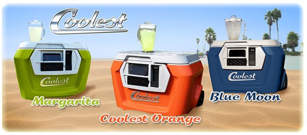 Coolest Cooler colours