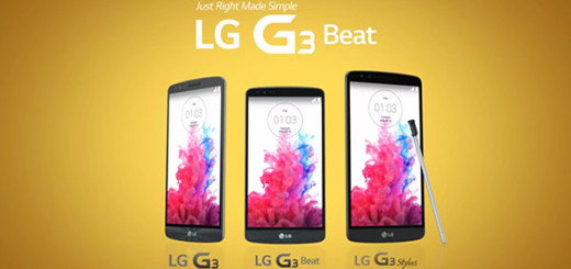 The LG G3 family