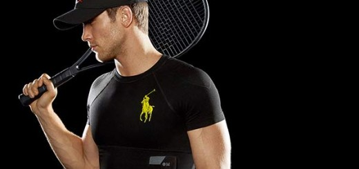 Ralph Lauren branded wearable technology shirts
