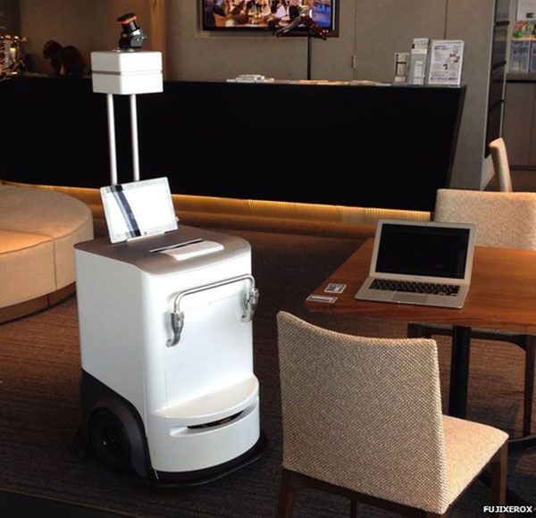 Fuji Xerox's robot printer