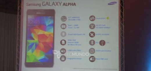 Galaxy Alpha Leaked Specifications
