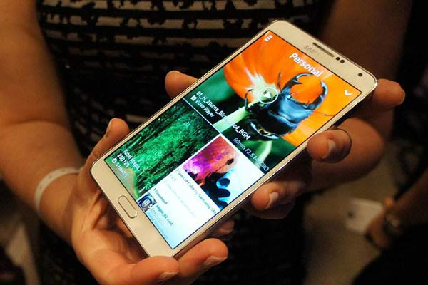 Will the Galaxy Note 4 look very different?