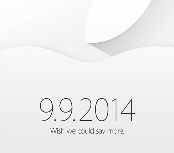 Apple Press Event Invitation