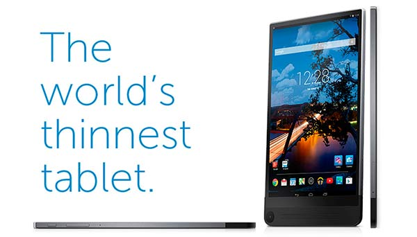 Dell Venue 8 7000 Series, the world's thinnest tablets