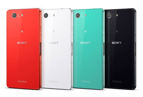 Sony Xperia Z3 Compact Colour Variation