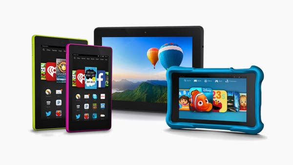 The Fire HD 7, Fire HD 6, Fire HDX 8.9, and Fire HD Kids Edition