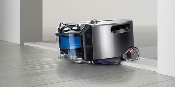 Dyson 360 Eye tackles door frame