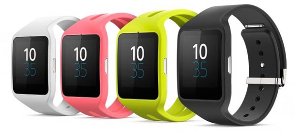 Colourful Sony SmartWatch 3