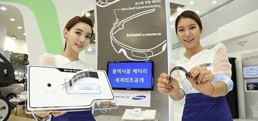 Samsung Flexible Batteries