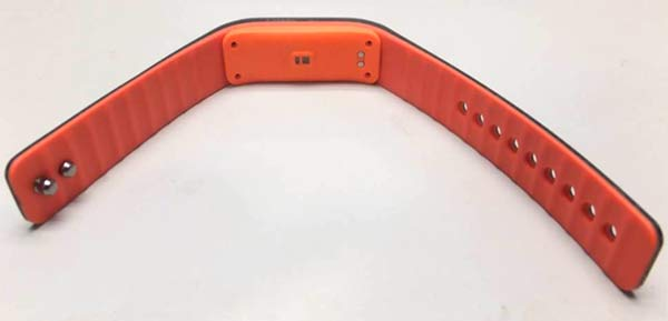 Lenovo smartband back view
