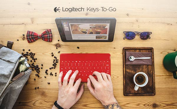 Logitech launches Keys-to-Go