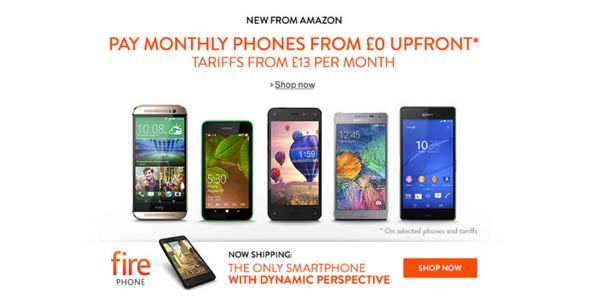 Amazon offering O2 contracts