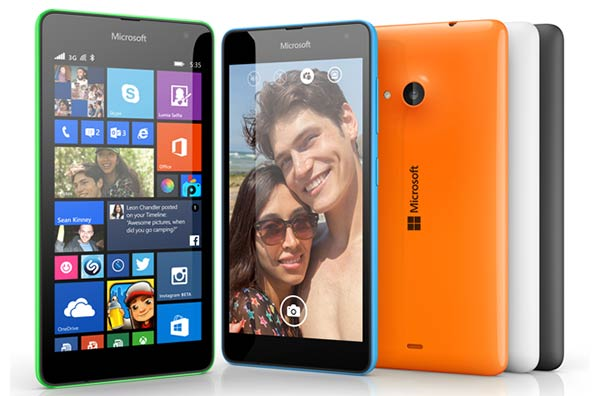 Microsoft Lumia 535, affordable, handsome, capable