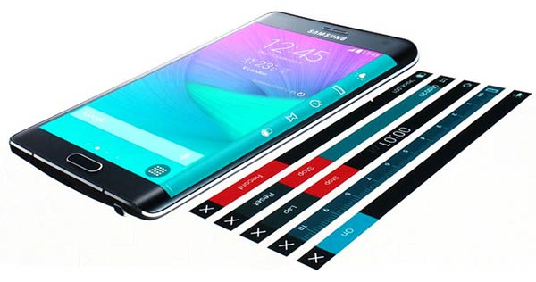 Samsung Galaxy Note Edge, Revolving UX