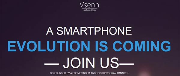 Announcement message from Vsenn