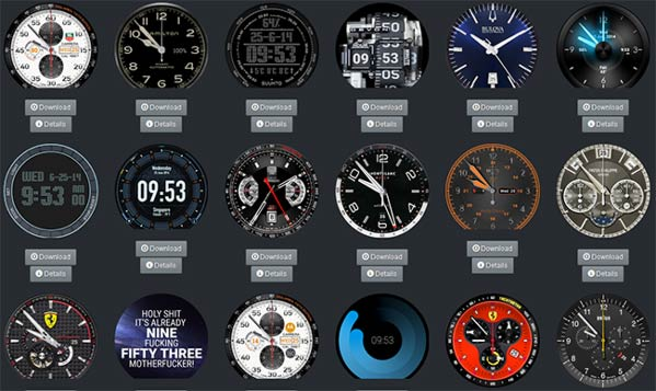 Smartwatch Faces
