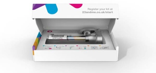 23andMe Personal Genome Service test kit