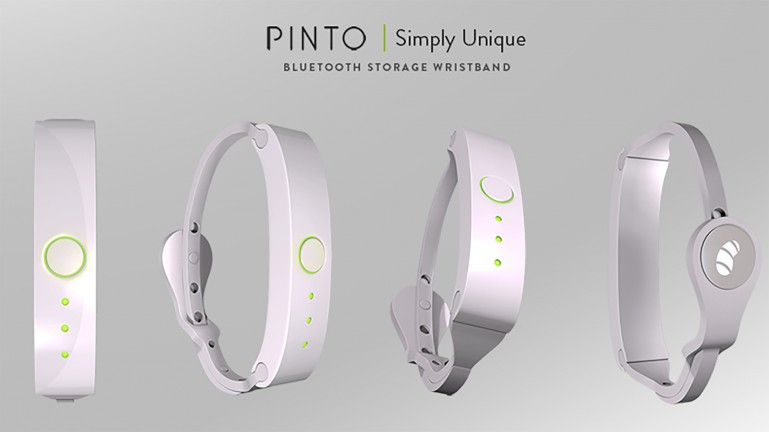 Pinto Wireless Storage Wrisband